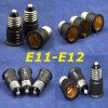 Adaptador al por mayor del sostenedor LED de la lámpara E11-E12