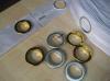 De decoratieve Band van het Gordijn met Eyelet38mm en Brede 7.5-8 Cm
