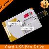 Movimentação da pena do USB do cartão da promoção do negócio do OEM (YT-3101)