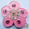 Marqueur de balle de golf à fleurs colorées (MJ-Golfball Marker-044)