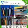 Cable de transmisión flexible estándar del control especial del VDE alto para el encadenamiento de la fricción
