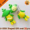 부모 선물 (YT-JL)를 위한 지시 관례 PVC USB 플래시 메모리