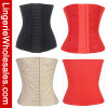 Cintura de tres mujeres de los colores que entrena al corsé atractivo