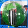 Bola que recorre del agua de la piscina de TPU y del PVC