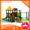 Guangzhou comercial de la fábrica de plástico de los niños al aire libre Diapositiva de equipos de juego