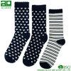 3 Paar-Baumwollkundenspezifische Mann-Mannschafts-Kleid-Socken