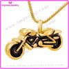Het gouden Staal van de Halsband van de Tegenhanger van de Urn van de Crematie van de Motorfiets voor de Houder van de Herinnering van de As (IJD8605)