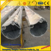 Pipe 5052, 6063, 6060, 6061, 6082 d'alliage d'aluminium