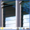 Prix ​​d'usine Clear Louvre Glass with Pencil Round Edge Work