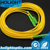 E2000Aのデュプレックス3.0mmの黄色への光ファイバPatchcord Lca