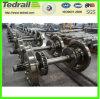 La locomotora de la rueda de vagón de tren, ruedas de acero para la venta, producto profesional