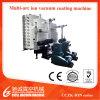 Macchina di titanio del macchina di placcatura dello ione dello strato dell'acciaio inossidabile di alta qualità/di doratura elettrolitica per il sistema di placcatura di Pipe/PVD