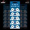 AG5 1.5V 알칼리성 단추 세포 건전지