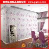Estilo de país de la decoración de la sala de estar del papel de empapelar del diseño del papel pintado 3D de Corea Wallcovering