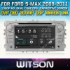 Witson Car DVD para S-Max 2008-2011 Car DVD GPS 1080P DSP Captive Screen WiFi 3G Front DVR Camera