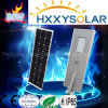 Fabrik-Zubehör alles in einem Solar-LED-Straßenlaterne80W