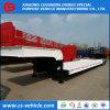 3 remorque de l'essieu 60t Lowbed 60 tonnes de chargeur inférieur