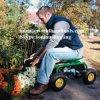 Assento do trabalho do rolamento do carro de jardim com bandeja da ferramenta