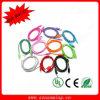 10 van Micro- USB 2.0 van kleuren de Duurzame Gevlechte Nylon Kabel Sync van Gegevens