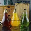 Botellas de cristal del jugo de la bombilla de Uniqu150ml 200ml 250ml con el casquillo