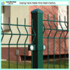 Cerca revestida del jardín del acoplamiento de alambre del polvo decorativo de la alta seguridad