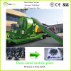 Waste Tire (Mobile Plant)のためのDura-Shred Hot Sale Grinding Machine