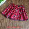 Girl를 위한 100%년 면 Colorful Water Print Embroidery Skirt
