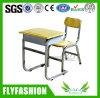Madera Individual Estudiante Escuela Escritorio y silla Mobiliario Escolar