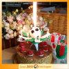 كرة قدم لون موسيقى لعبة ناريّة عيد ميلاد شمعة