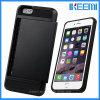 Caisse mobile en gros d'accessoires de téléphone cellulaire de TPU+PC pour l'iPhone 6s