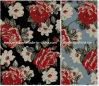 كبير [روس] زهرات في [بفك] [كتّون فبريك] لأنّ شتاء ونابض نمط حقيبة ([ك10سب-025])