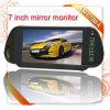 Monitor alternativo in-Car do espelho de uma opinião traseira de 7 polegadas auto