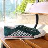 La suela de caucho 2016 Zapatos de lona (CNS-02127)