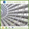 Invernadero del palmo ancho de la estructura de acero del rompecabezas que estaciona automático