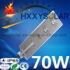 3 luz de calle solar integrada de la garantía 70W LED del año