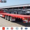 40ton Vrachtwagen van de Aanhangwagen van de Container van de capaciteit Flatbed voor Verkoop