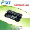 Toner noir compatible pour le frère Dr3000 30j 510