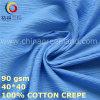 衣服の織物(GLLML426)のための100%年の綿のクレープファブリック