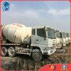 Één-jaar-garantie/Motor 6*4-LHD-Drive Euro3 6~8cbm de Japan-Uitgevoerde Gebruikte Vrachtwagen van de Concrete Mixer van Mitsubishi