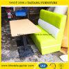 Restaurante Assentos Sofá Mobiliário Diner Booth definido para venda