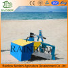 Tipo montado trator do líquido de limpeza da praia mini
