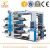 6 Farben-doppelte mit Seiten versehene Plastikpolypropylen-Film-Drucken-Maschine