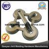 يكوّن أربعة فناجين فولاذ مصّ زجاجيّة مصّ مروع [وت-3804]