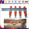 Unipole ha unito il sistema di pista elettrico della barra di alluminio del conduttore