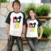 형식 디자인 면 가족 한 쌍 t-셔츠