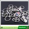 Anello portachiavi poco costoso di marchio del veicolo per il trasporto del metallo di vendita diretta della fabbrica