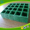 Antiskid Rejilla de fibra de vidrio escaleras con granos de arena en la superficie