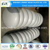Têtes elliptiques d'assiette de montures de tube de l'acier inoxydable AISI 304