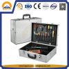 Black / Silver Hard Case Case Caixa de ferramentas impermeável tática com cinto de espuma e ombro (HT-1115)
