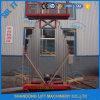 La scaletta di alluminio mobile dell'elevatore di vendita calda